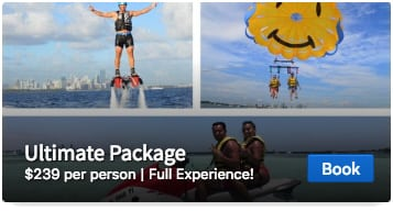 Miami Watersports Ultimate Package